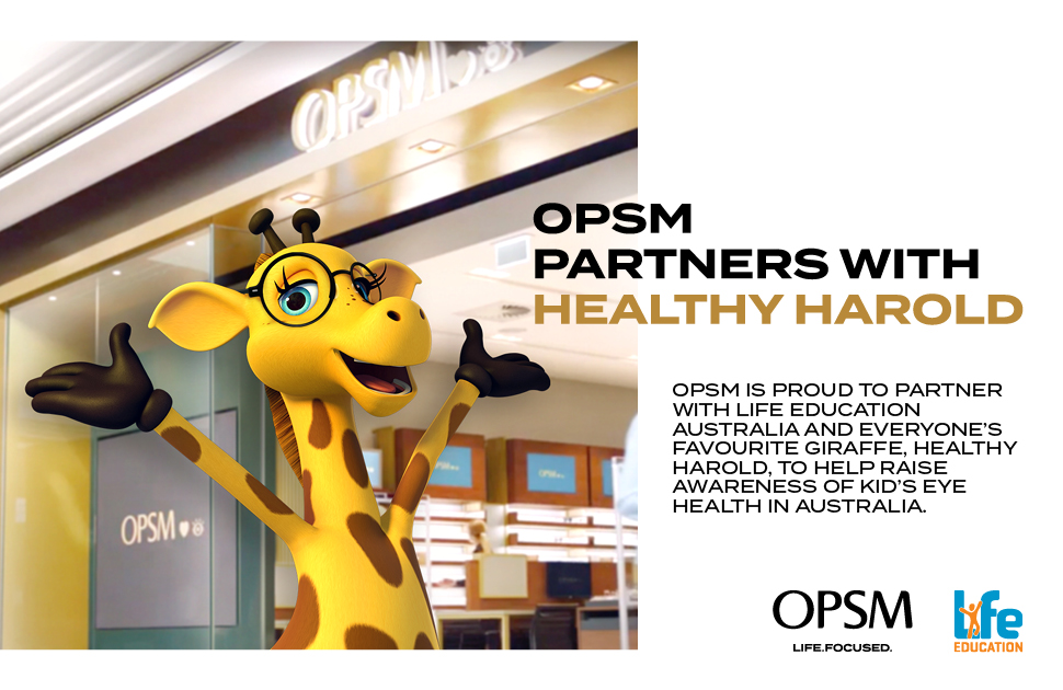 OPSM Partners with Healthy Harold