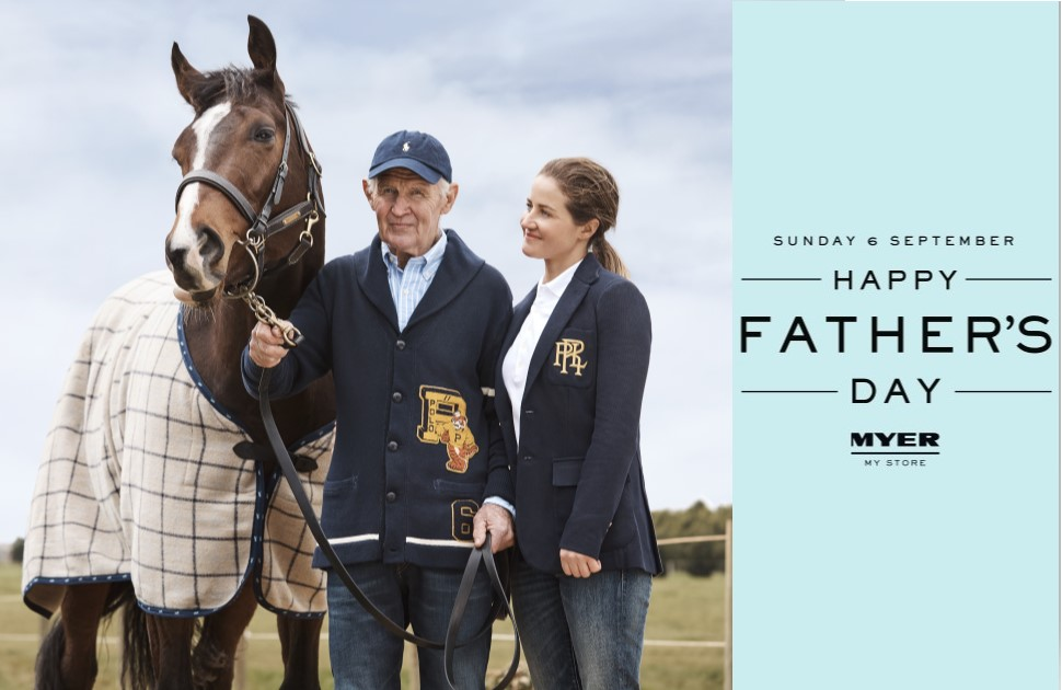 Celebrate Father's Day with Myer