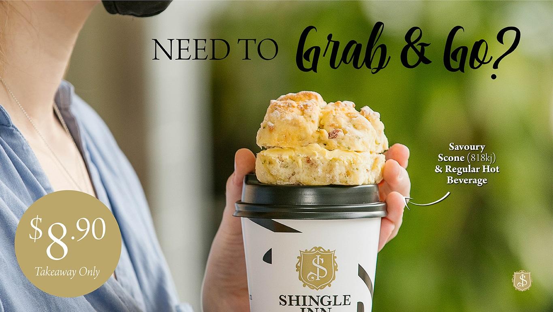 $8.90 Grab & Go at Shingle Inn