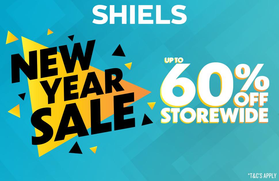 Shiels New Years Sale