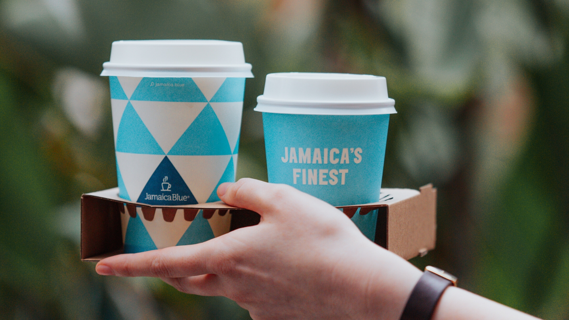 Free coffee with every meal at Jamaica Blue