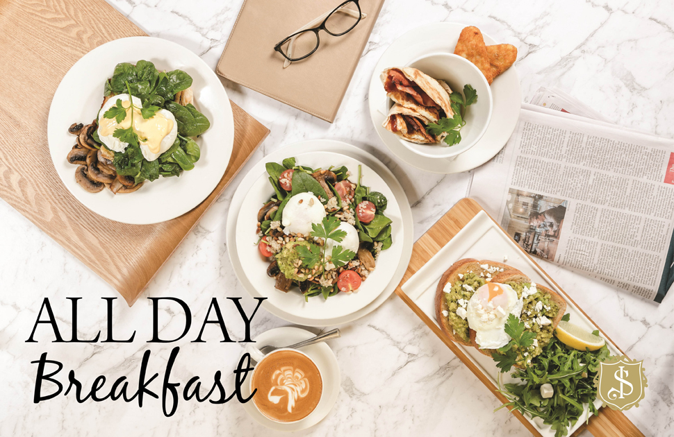 Shingle Inn's All Day Breakfast