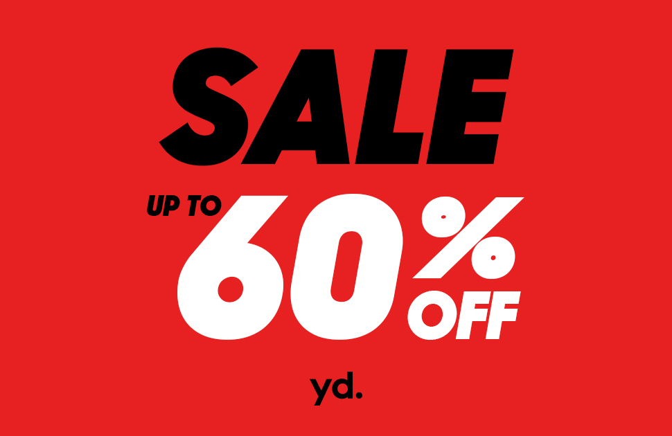 yd's Up To 60% Off Sale