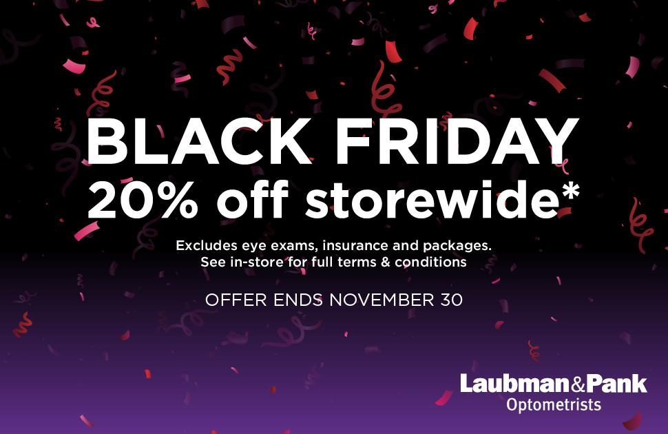 Laubman & Pank's Big Shopping Week Sale