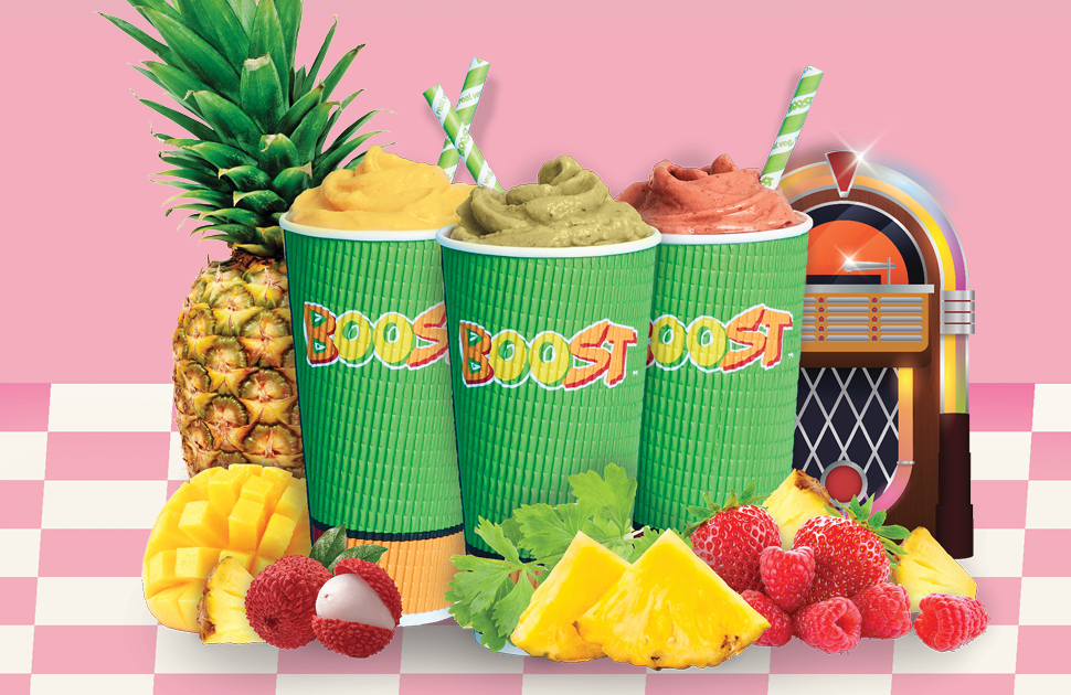 Boost's Pineapple with a Twist