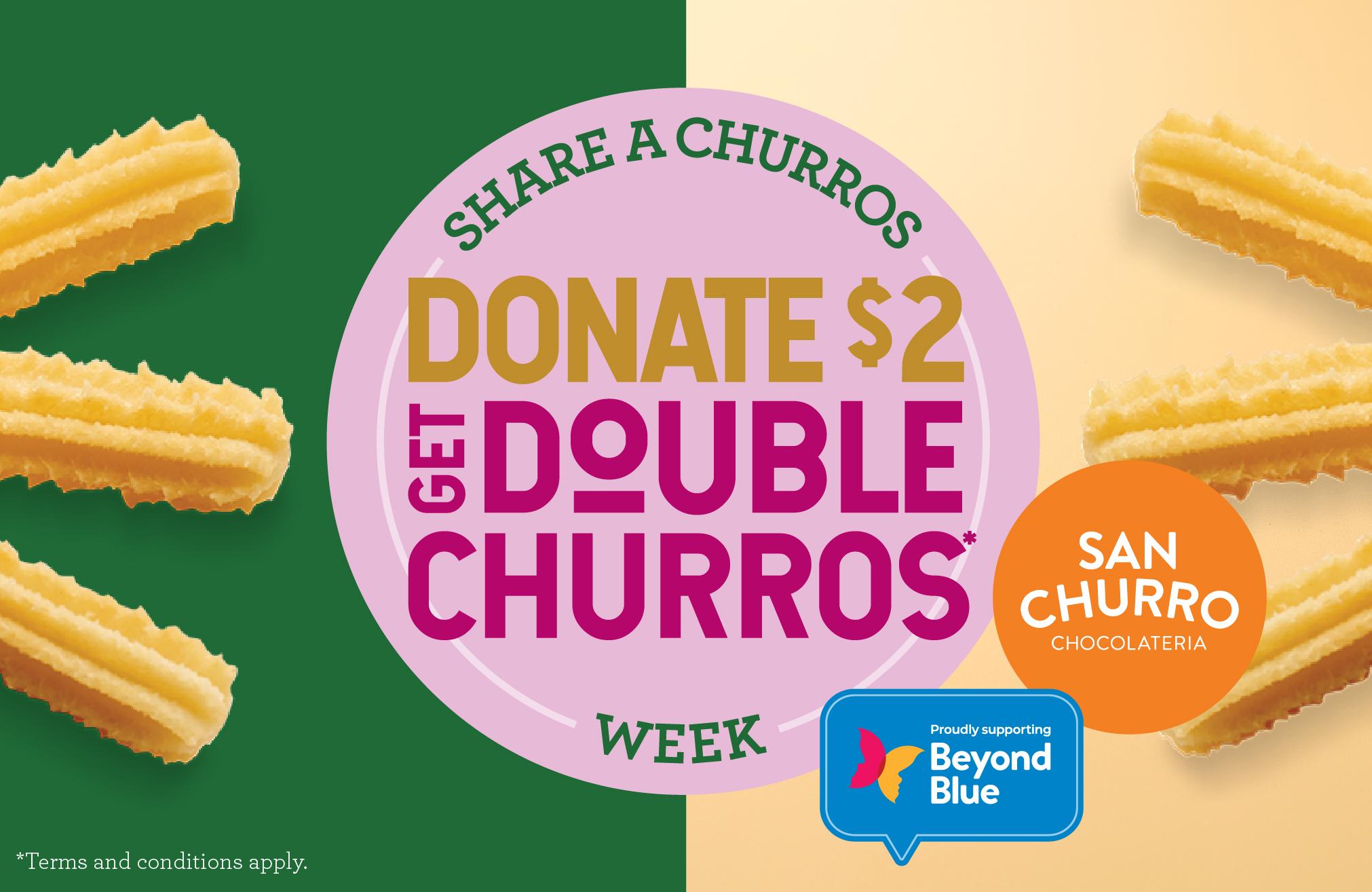 Share a Churros Week
