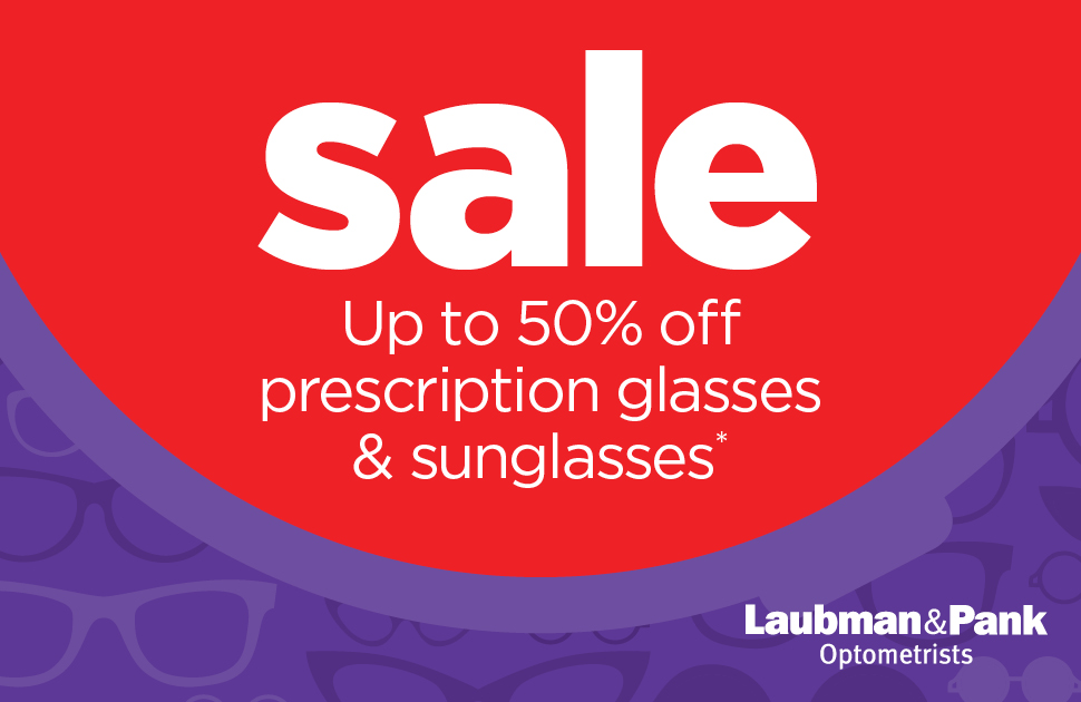 Laubman & Pank's Prescription Glasses and Sunglasses Sale