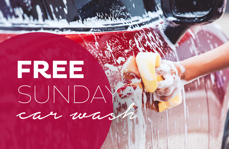 Free Sunday Car Wash