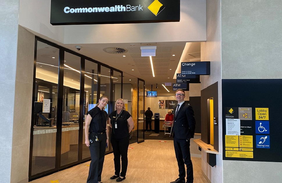 The Commonwealth Bank Have Moved