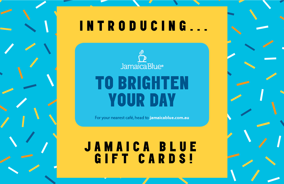 Jamaica Blue's NEW Gift Cards