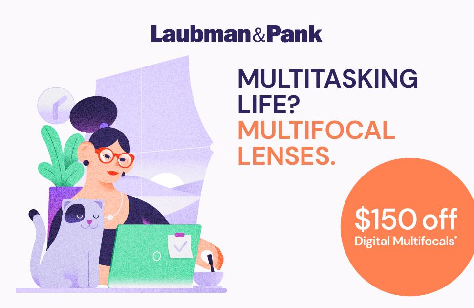 Laubman & Pank's Multifocal Lenses Offer