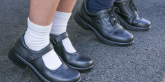 School shoes fittings at The Athlete's Foot