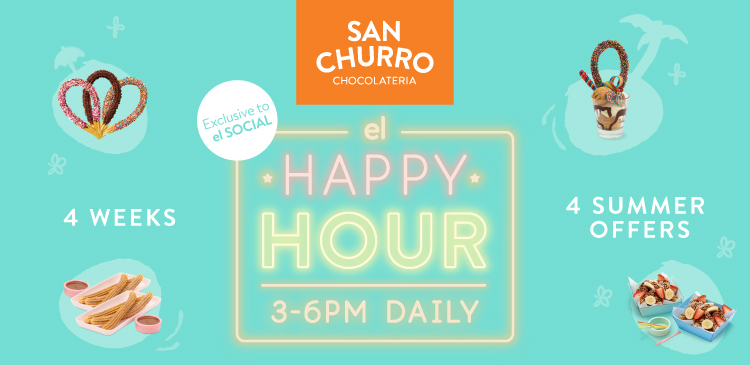 el Happy Hour offers now available at San Churro