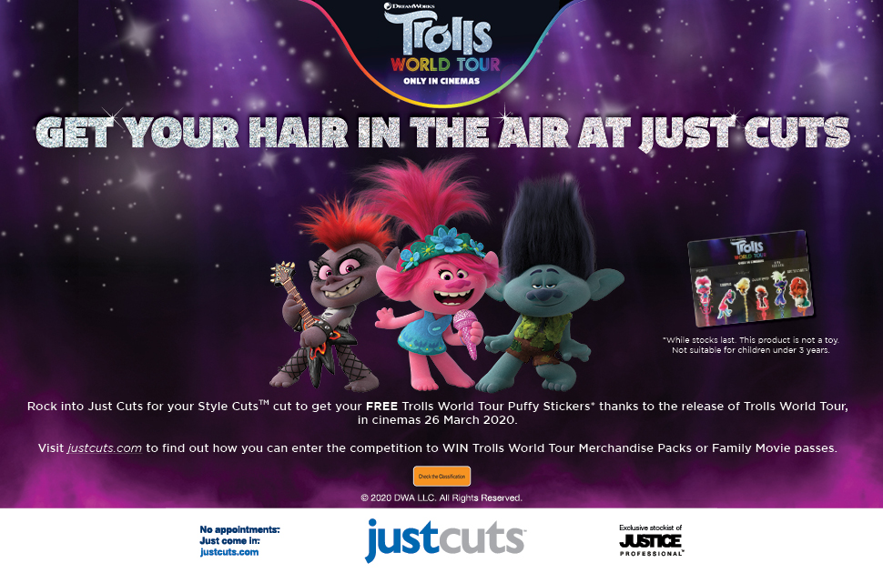 Get Your Hair in the Air with Just Cuts