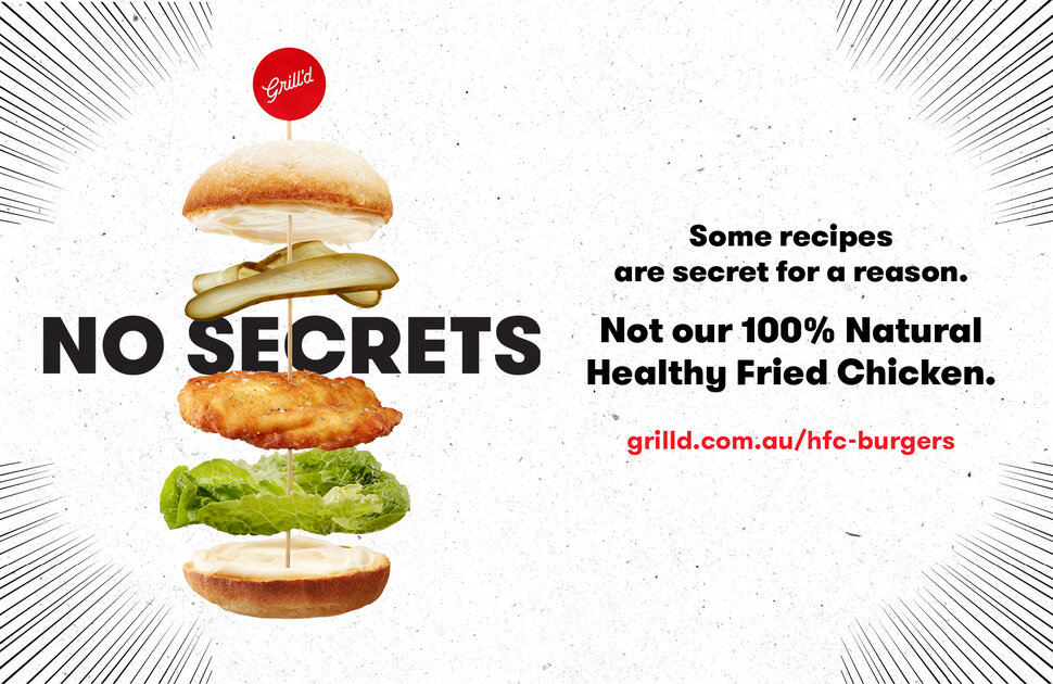 NEW HFC Burgers at Grill'd