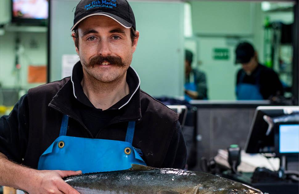 Meet Matt, The Fish Market