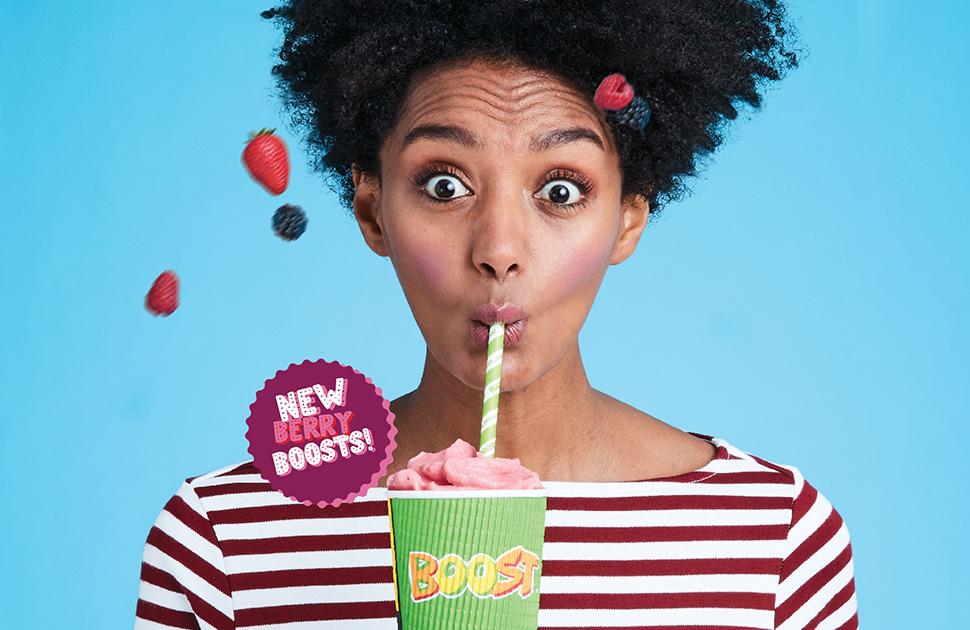 Boost Juice's NEW Berry Range