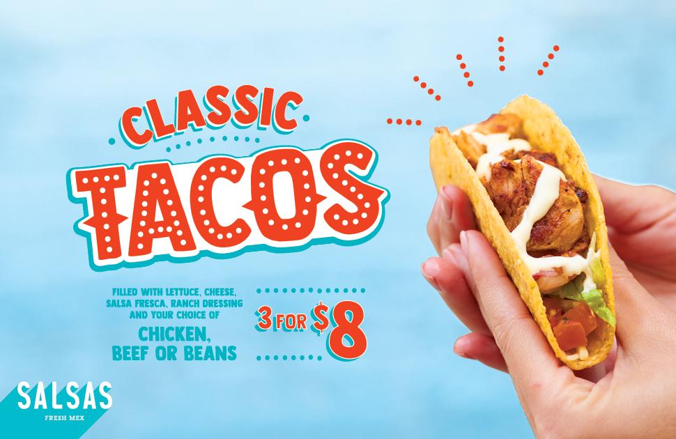 Salsas Classic Tacos