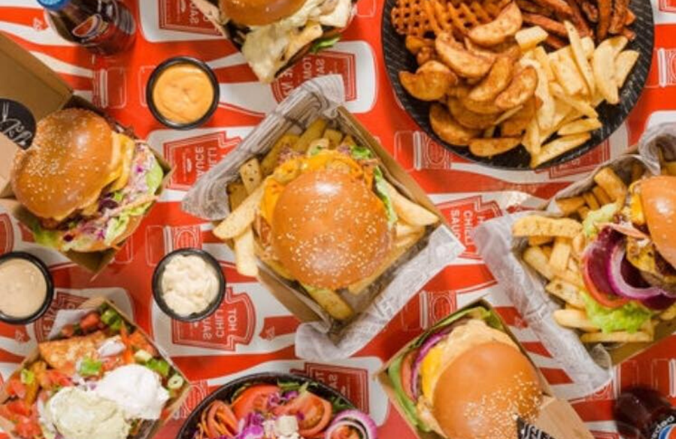 Burgers & Co and LeWrap Delivery!