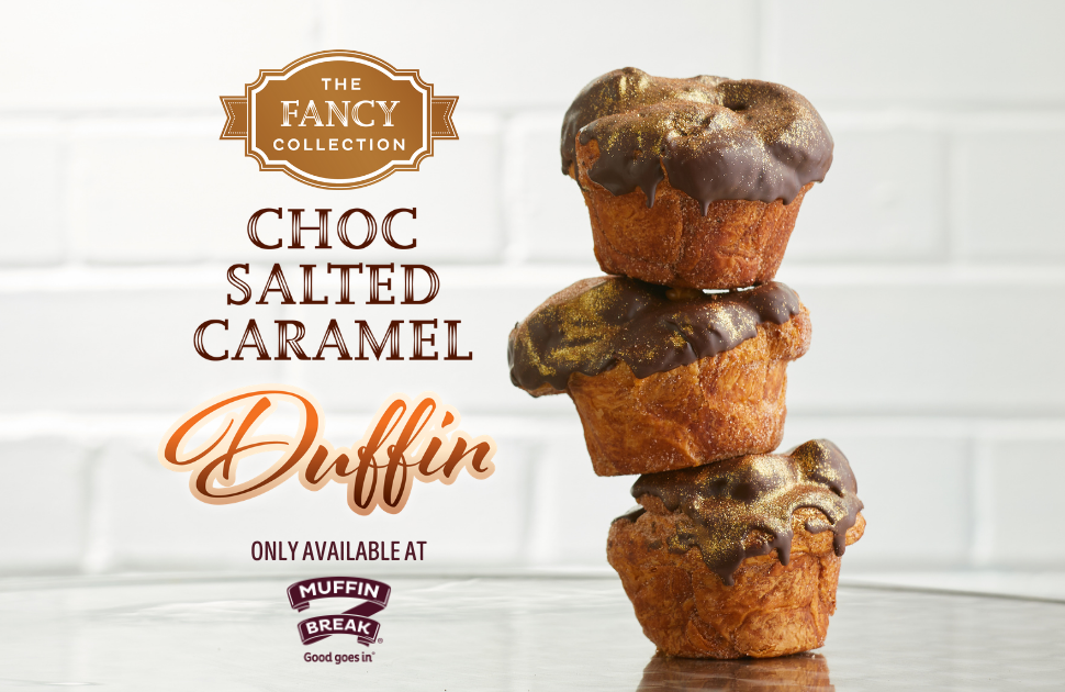Introducing Muffin Break's Fancy Collection