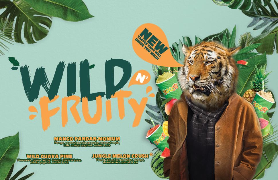 Boost Juice's Wild N' Fruity