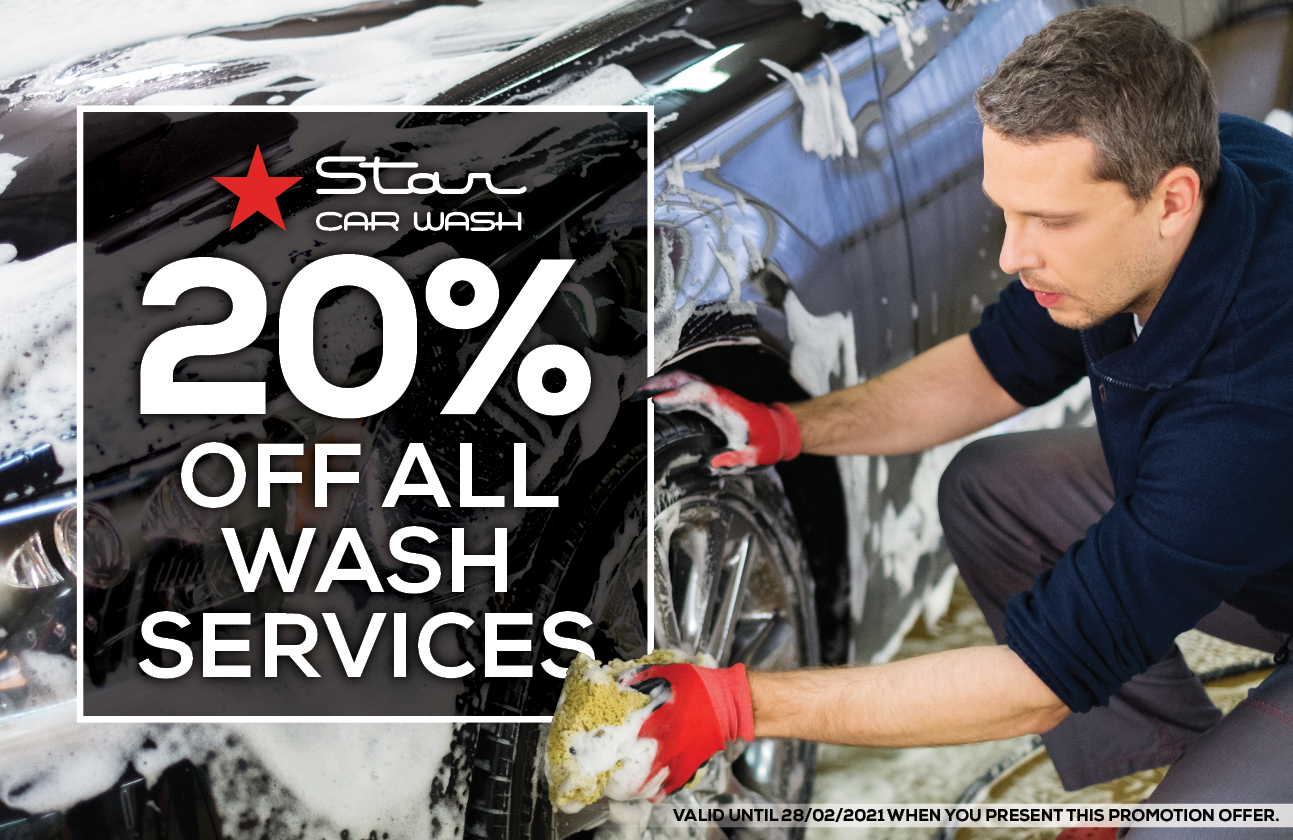 Star Car Wash Campaign