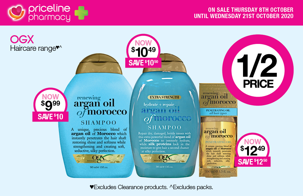 Priceline Pharmacy's October Catalogue Sale