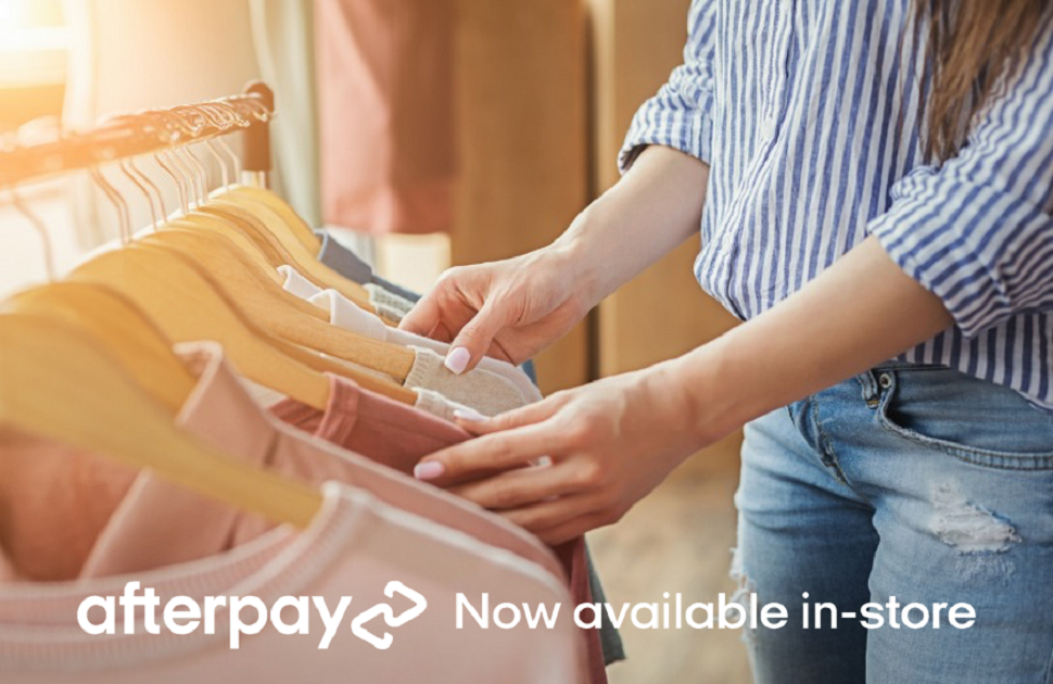 Shop Now Pay Later With Afterpay In-Store