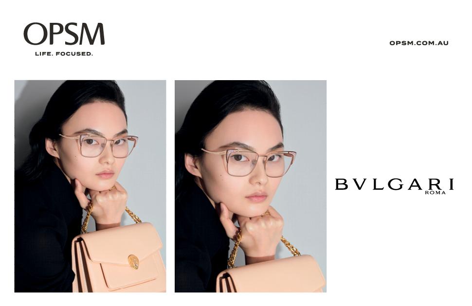 Discover the new Bvlgari Eyewear