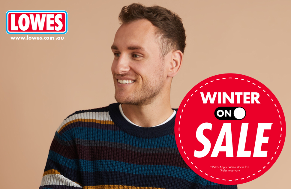 Lowes Bigger and Better Winter 'ON' Sale