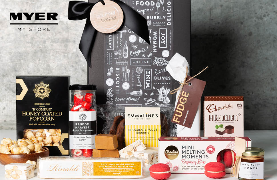 Gourmet Basket now available at Myer