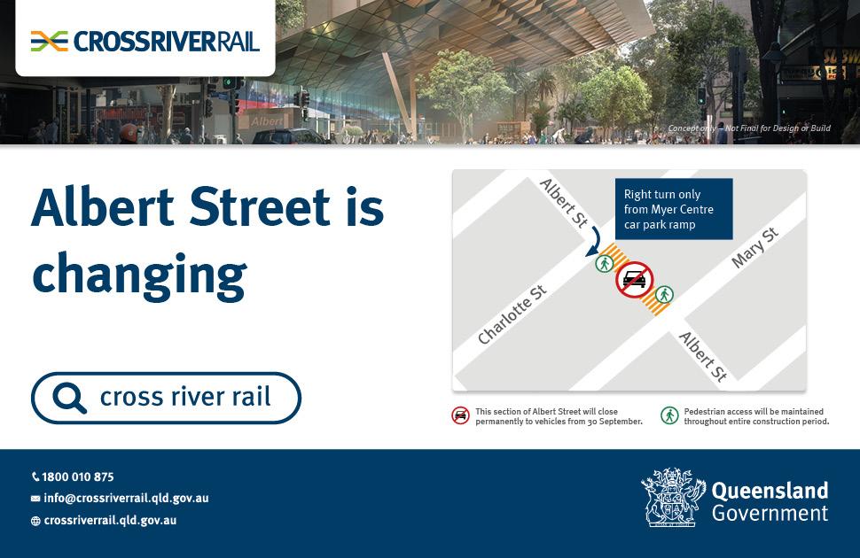 Albert Street has changed