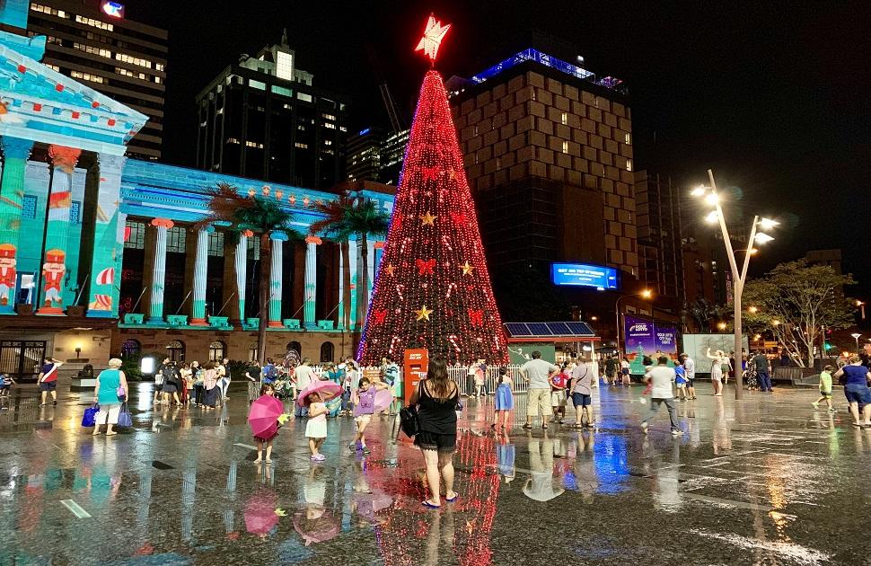 Brisbane City Christmas Tree