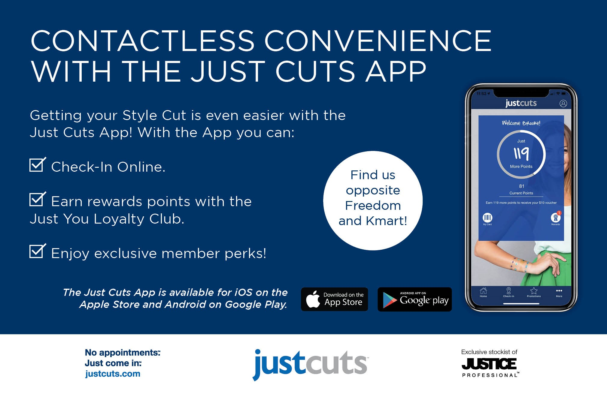 Just Cuts Apps