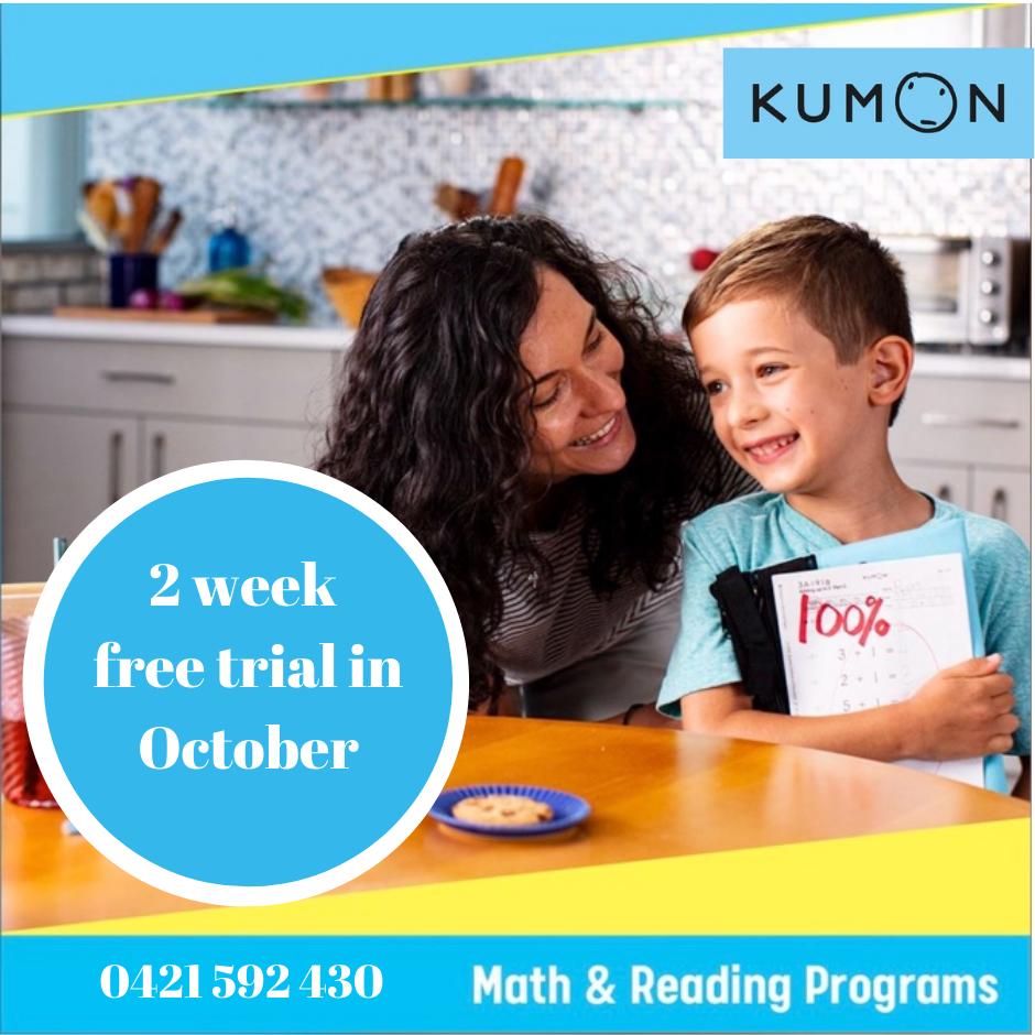 Kumon - 2 week FREE trial