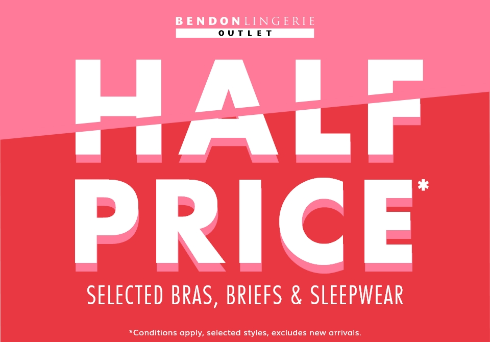 Bendon Half Price Sale