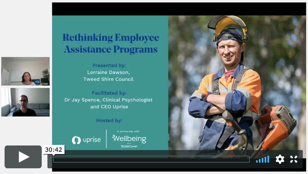 Rethinking Employee Assistance Programs