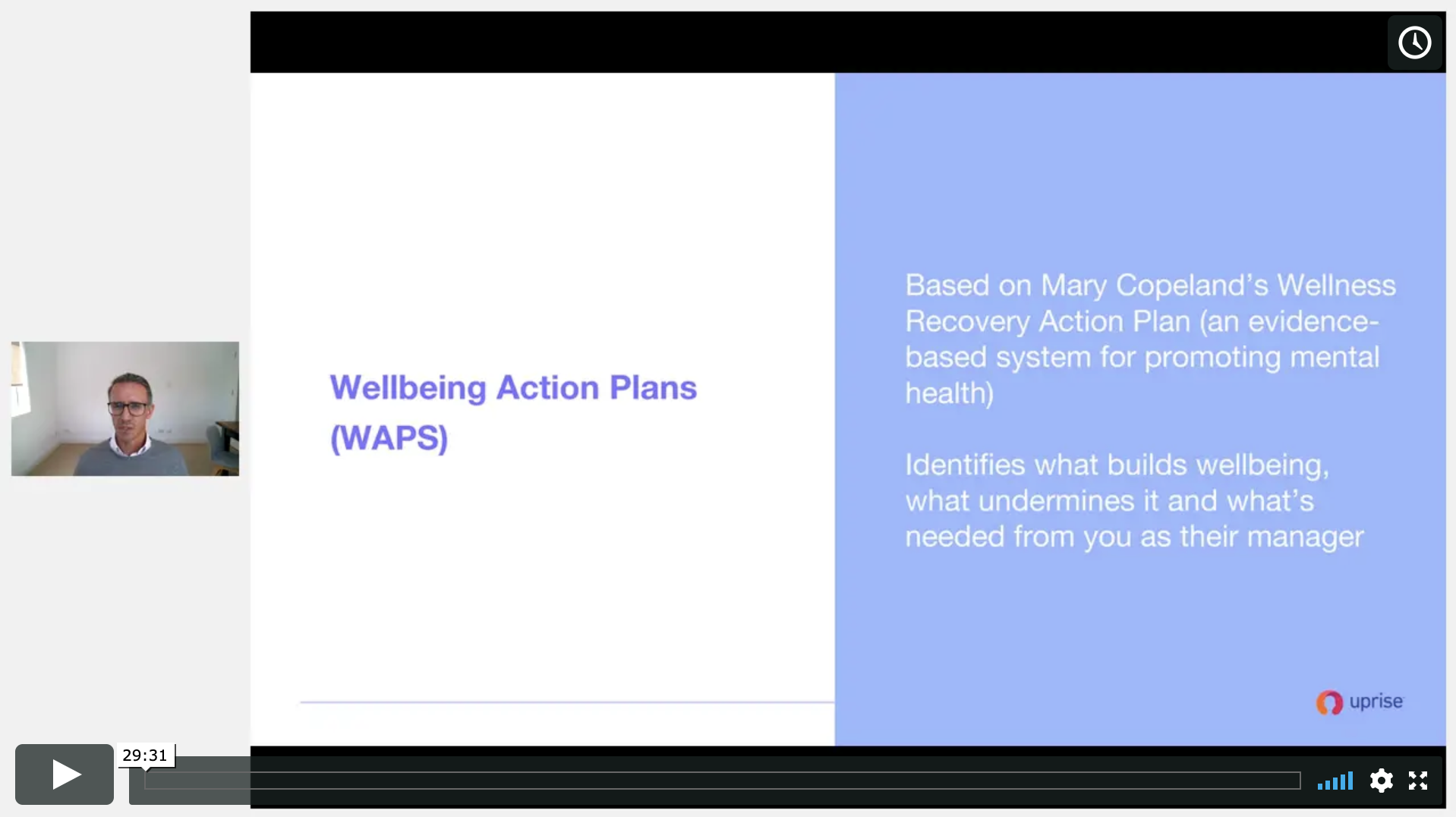Wellbeing action plans