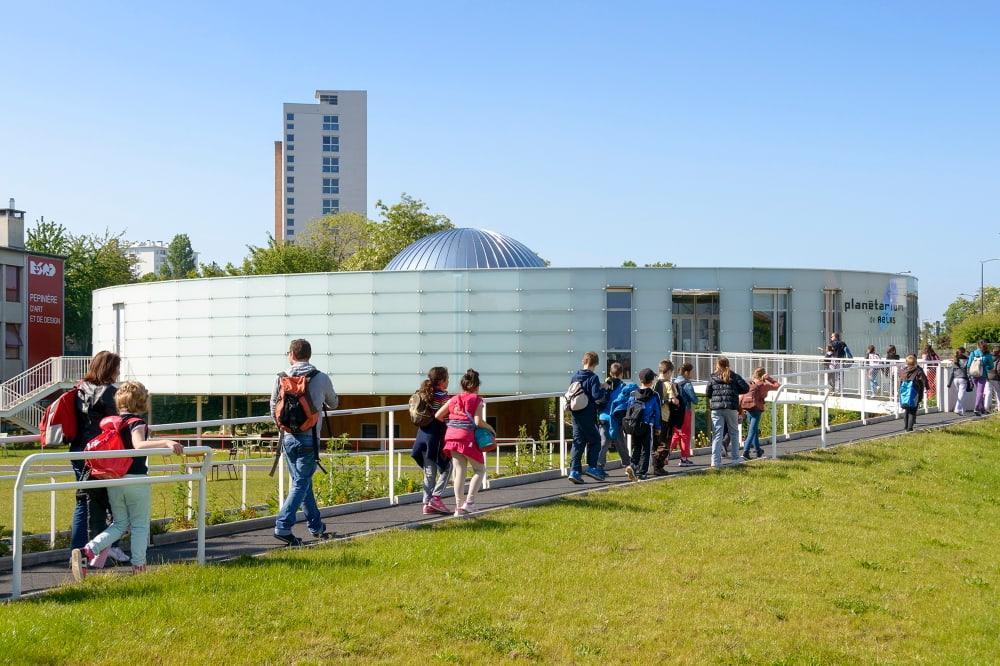 Le planétarium de Reims