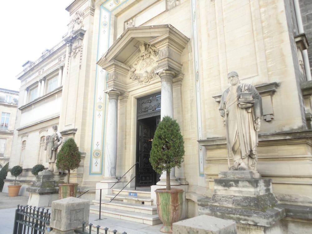 Le musée des beaux-arts de Nimes