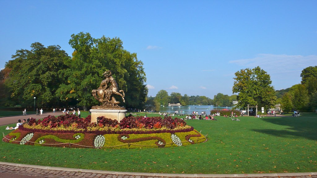 Parc de la Tête d'Or à Lyon