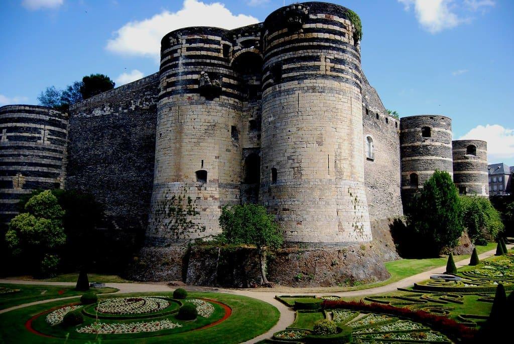 Le château des ducs d'Anjou