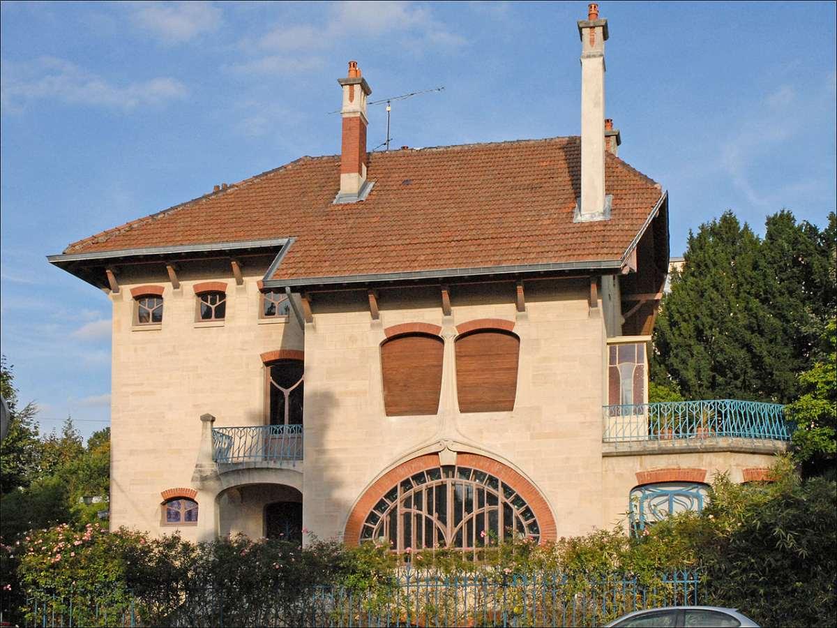 Quartiers Art Nouveau à Nancy