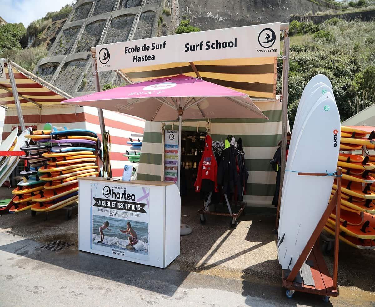 Les écoles de surf