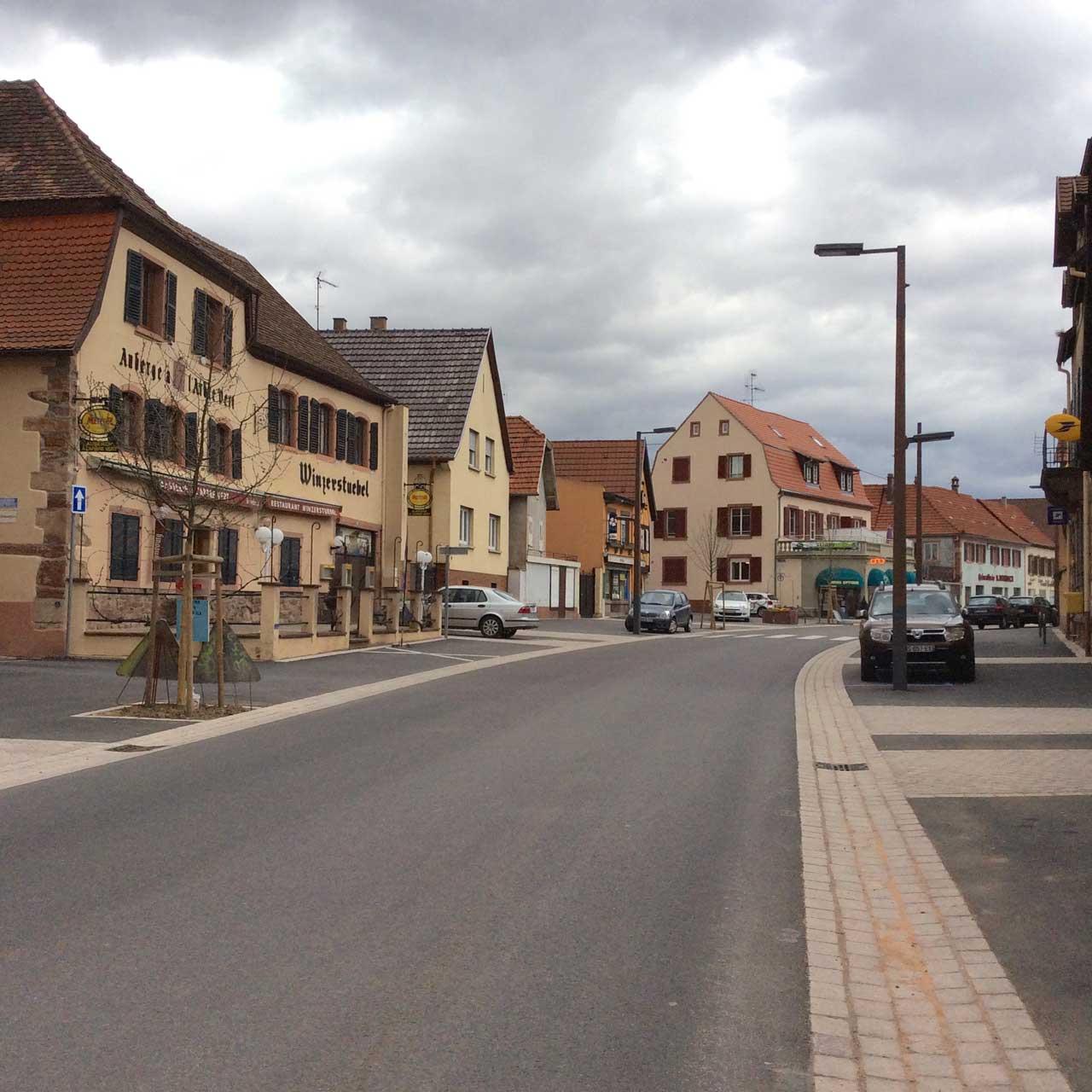 Le village Marlenheim