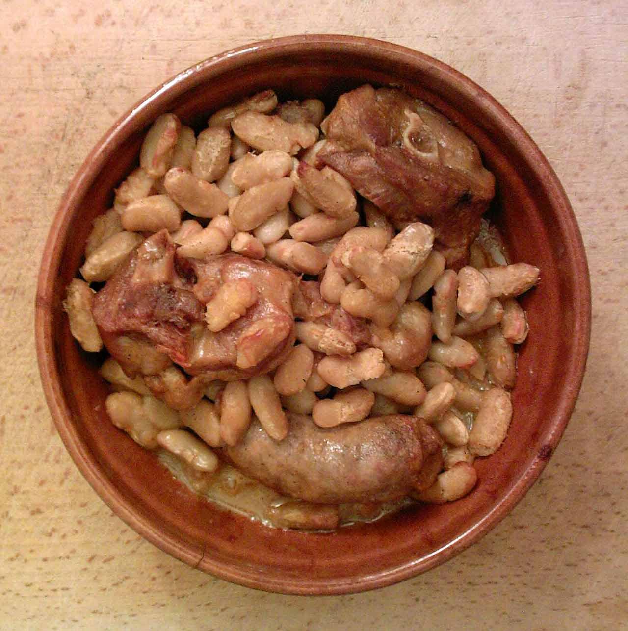Le cassoulet du Languedoc