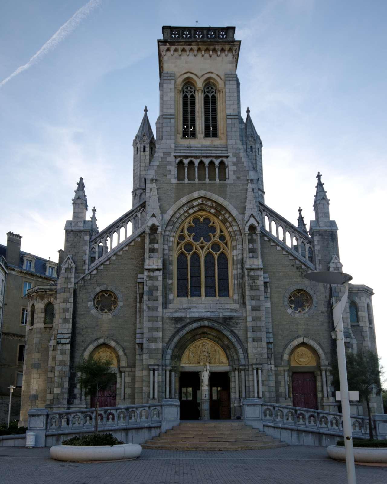 L'église Sainte Eugénie
