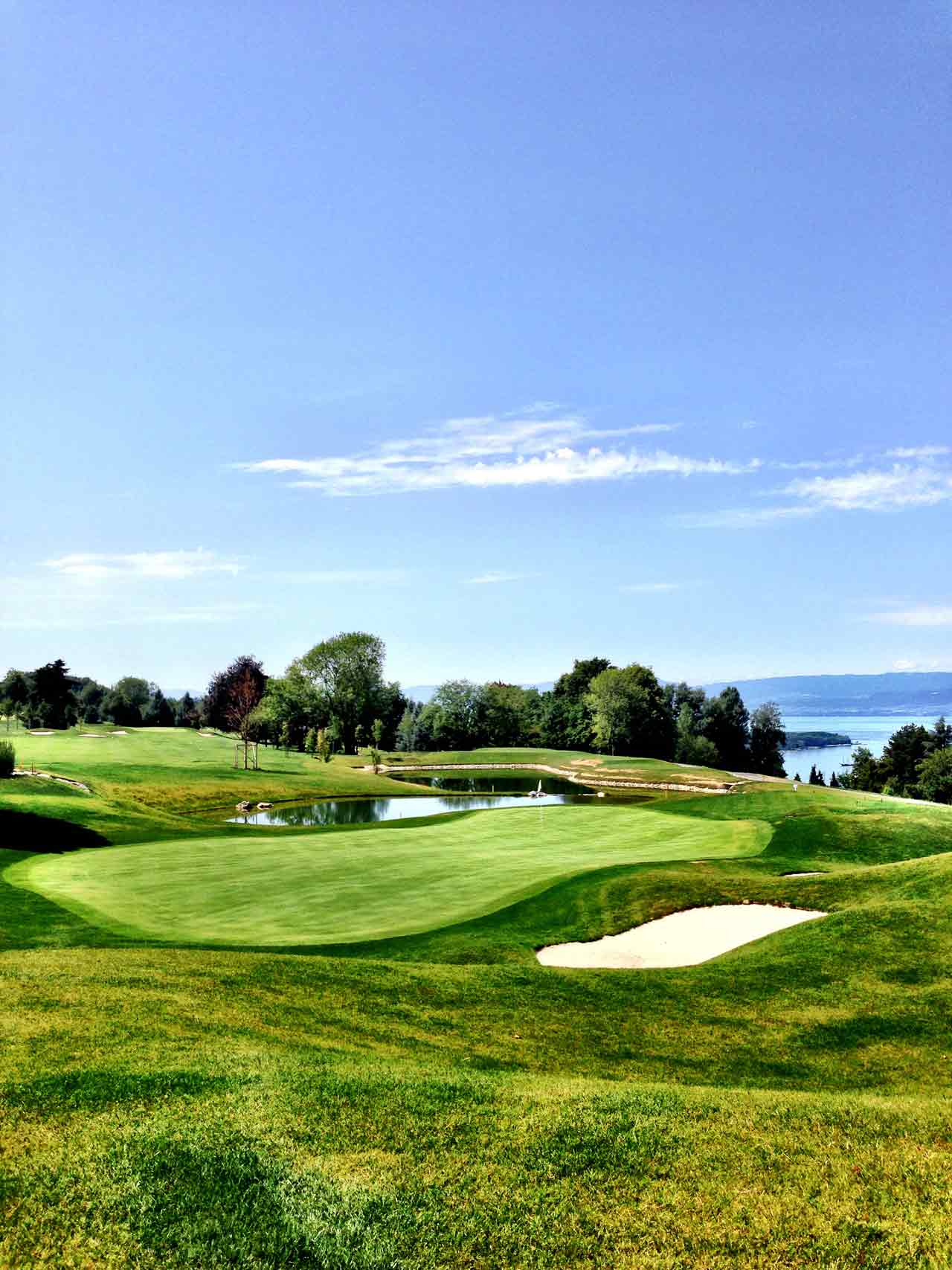 Évian resort golf club, Haute-Savoie