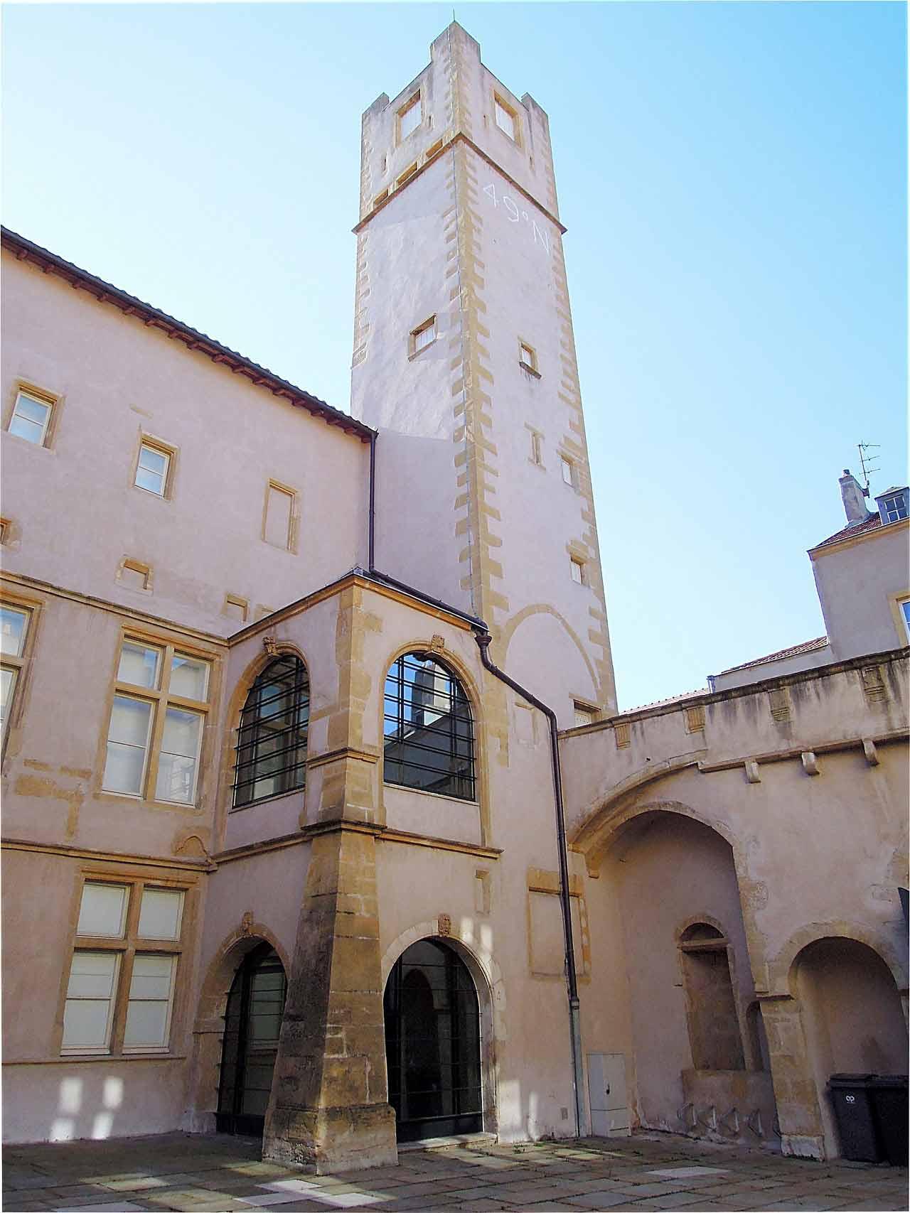L'hôtel médiéval Saint-Livier à Metz