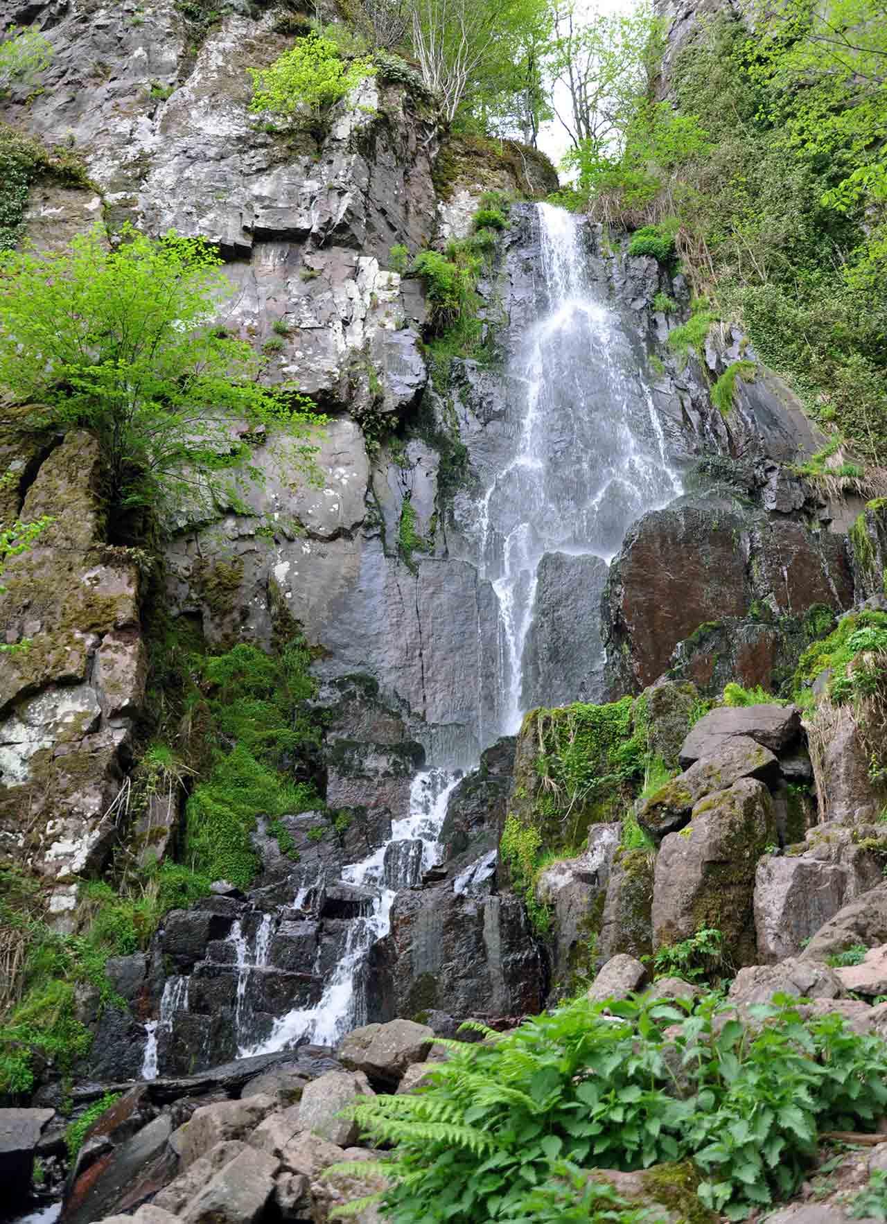 La cascade du Nideck, Bas-Rhin